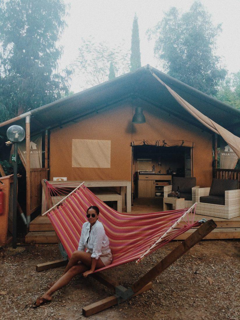 Holidays Elba Island Tips Villa tent Camping dei Prati