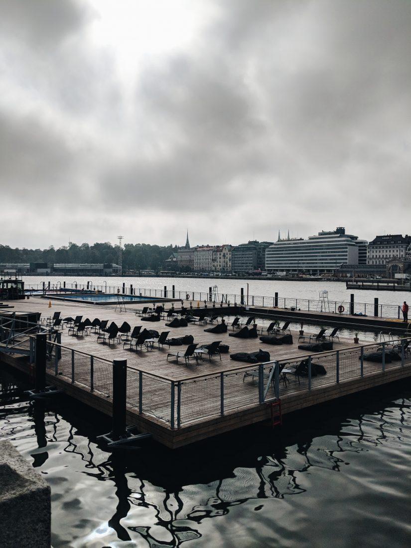 Layover in Helsinki Allas sea pool 1