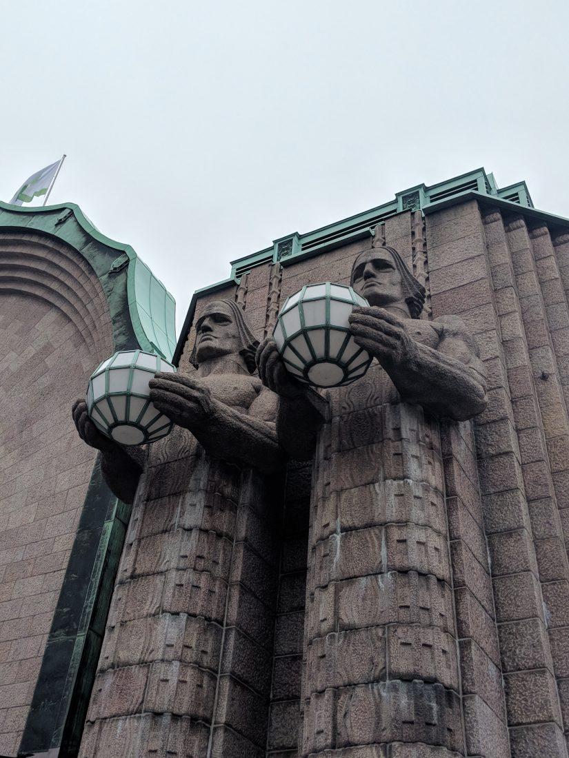 Layover in Helsinki Helsinki train station