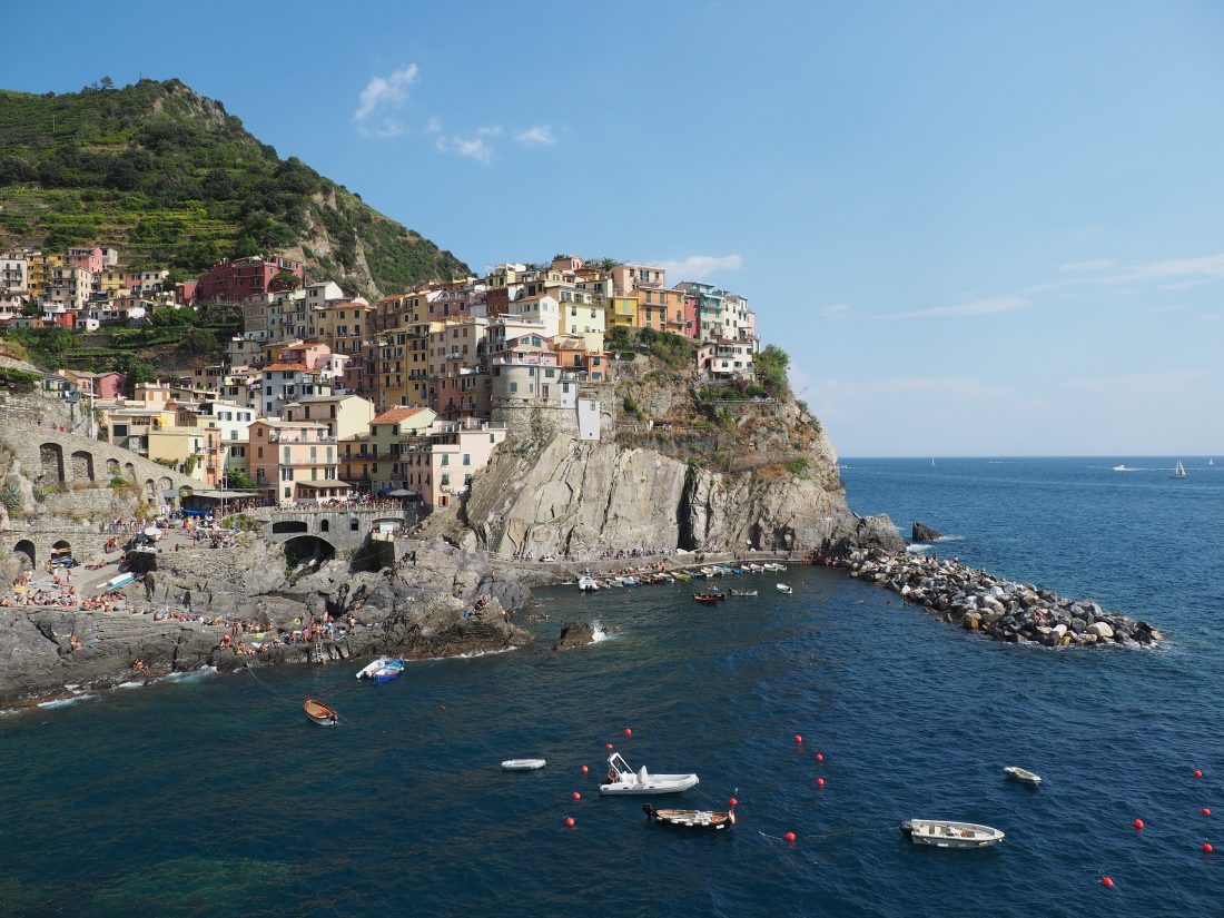 One day in Cinque Terre Pictures Manarola