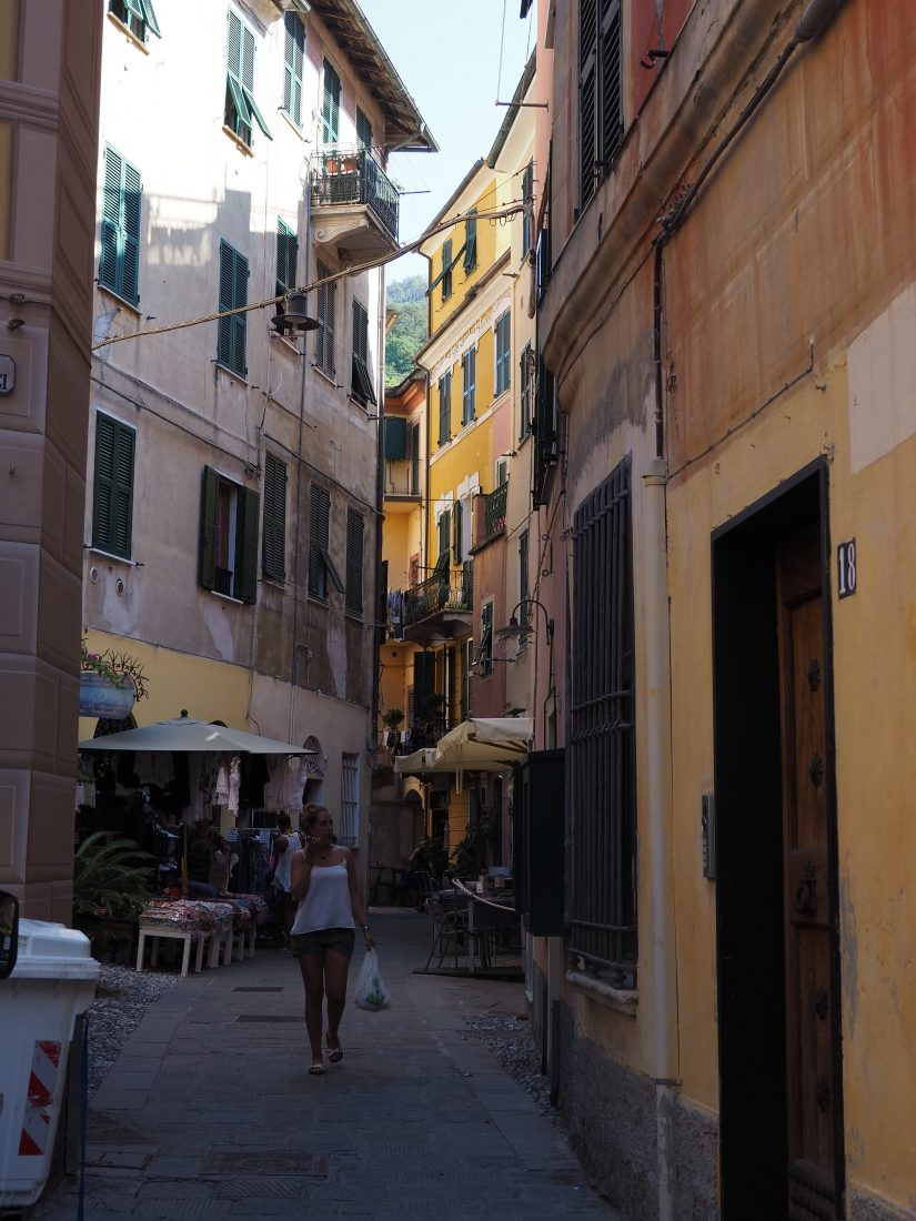 One day in Cinque Terre Pictures Monterosso street
