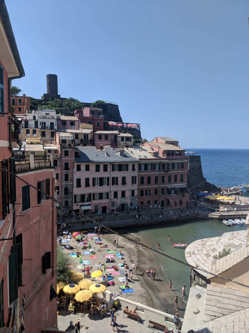 One day in Cinque Terre Pictures vernazza beach town