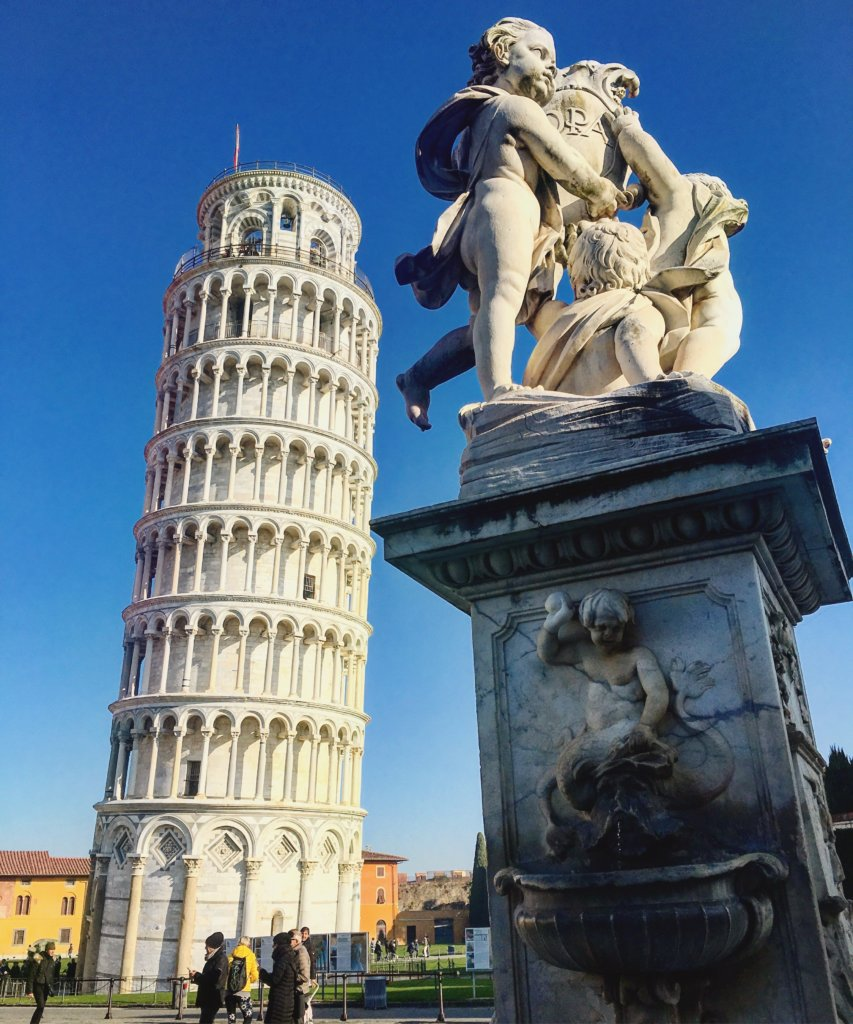 Tuscany roadtrip - Leaning tower of Pisa
