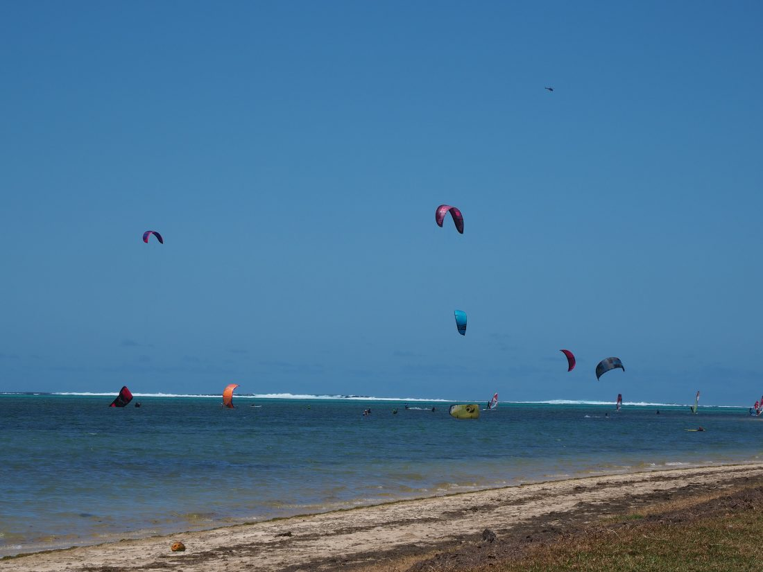 10 activities in Mauritius Kite Surf