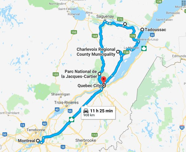 Quebec Roadtrip