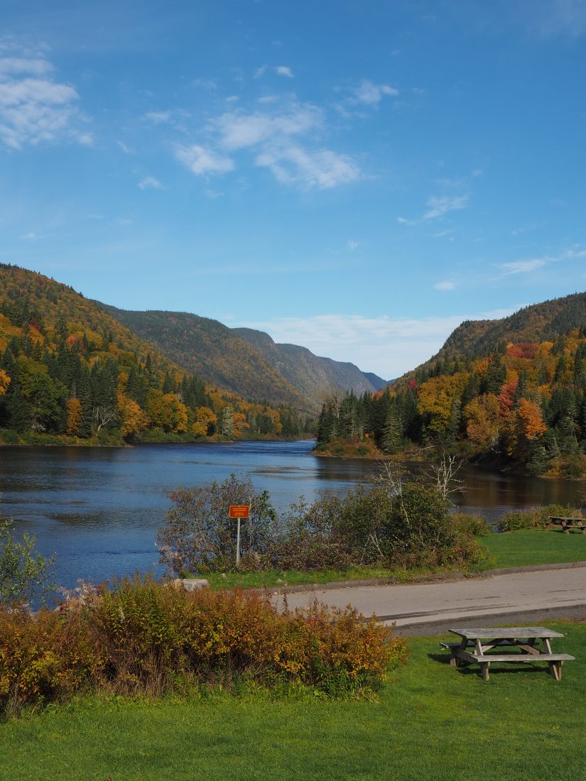 Quebec Roadtrip - Eastern Canada road trip itinerary Jacques Cartier national park