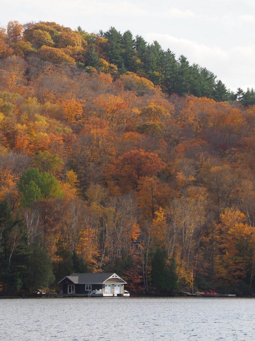 Toronto to Montreal scenic drive Kawartha lakes 2
