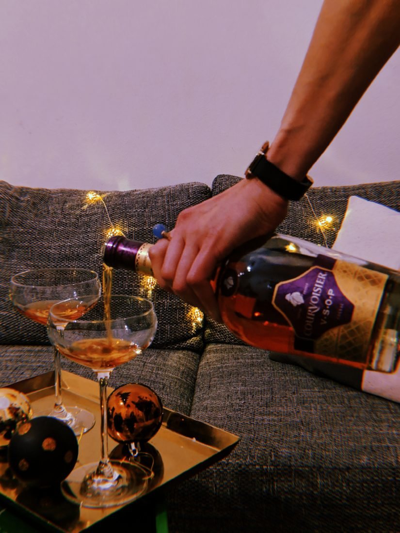Courvoisier cocktail for the holiday season 2