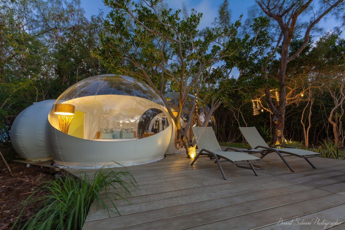 Where to stay in Mauritius - Accommodation in Mauritius Bubble lodge 1