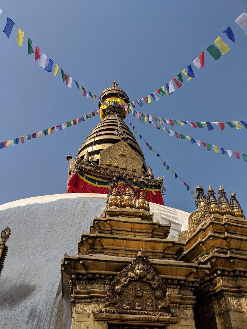 Kathmandu Sightseeing - Swayambhunath Stupa Monkey temple 1