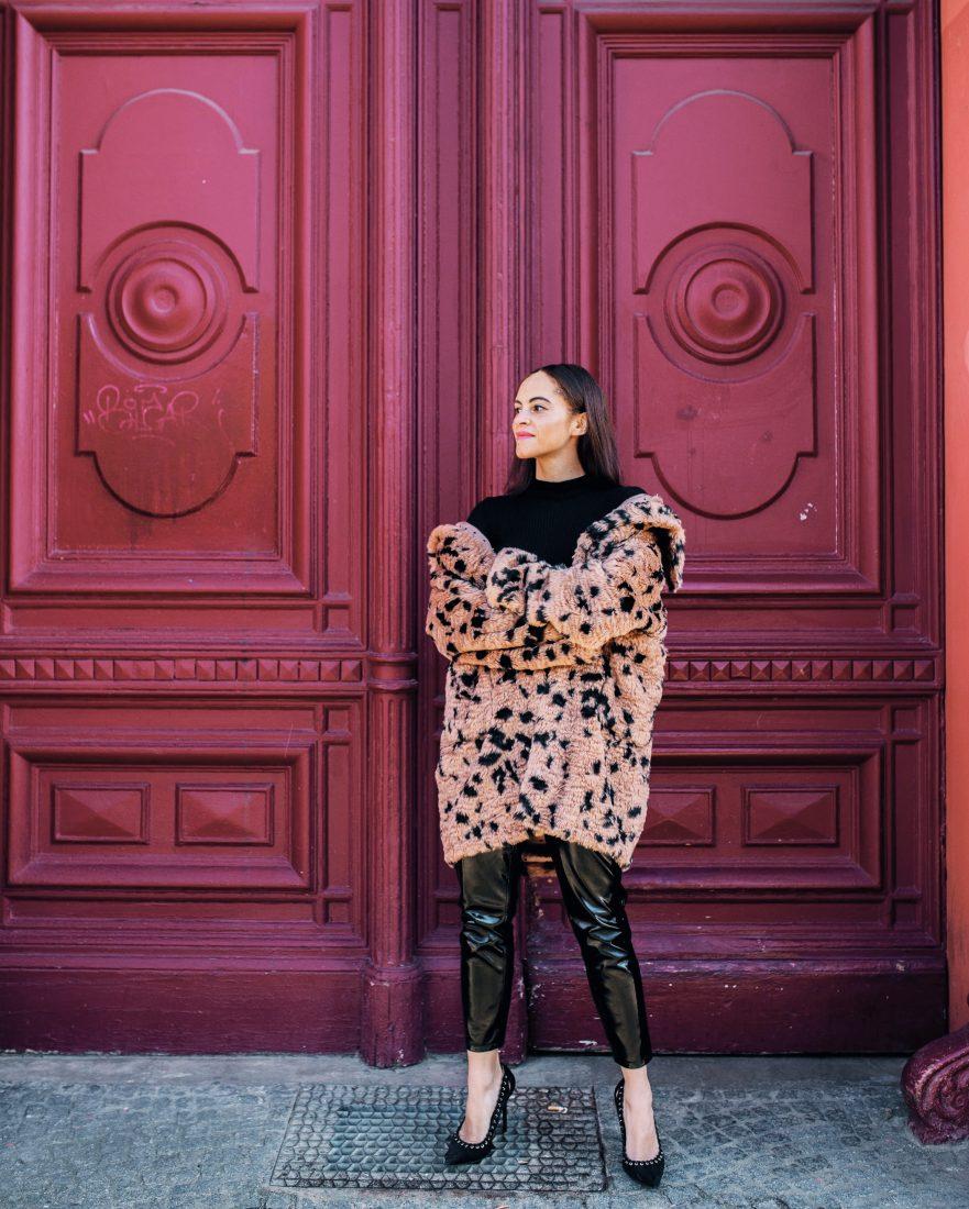 leopard coat luisa cerano