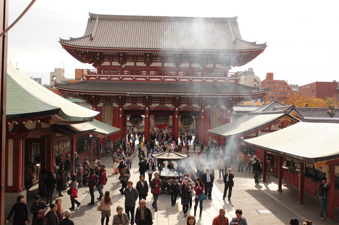 7 days in Tokyo itinerary Senso ji