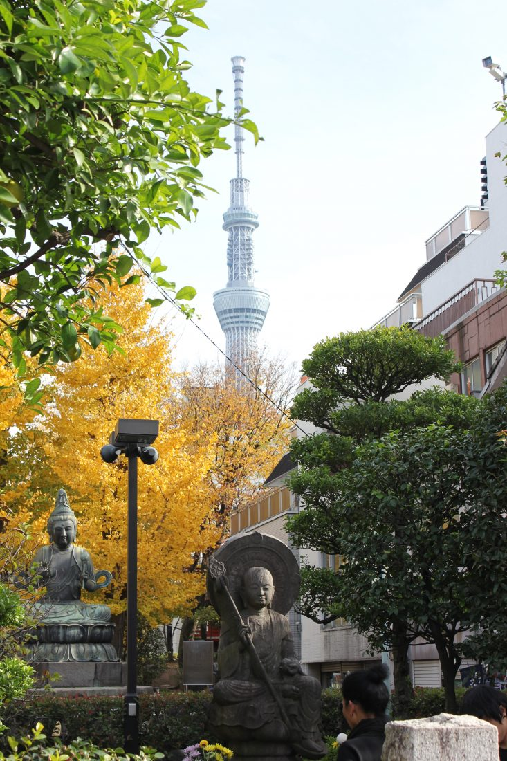 7 days in Tokyo itinerary Sky tree 2
