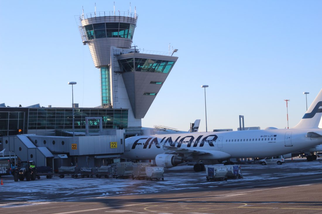 Finnair business class menu – behind the scenes