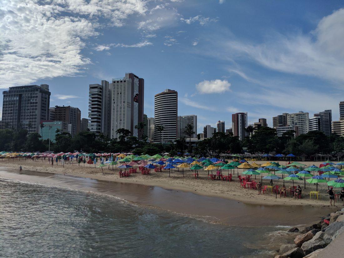 Fortaleza main beach