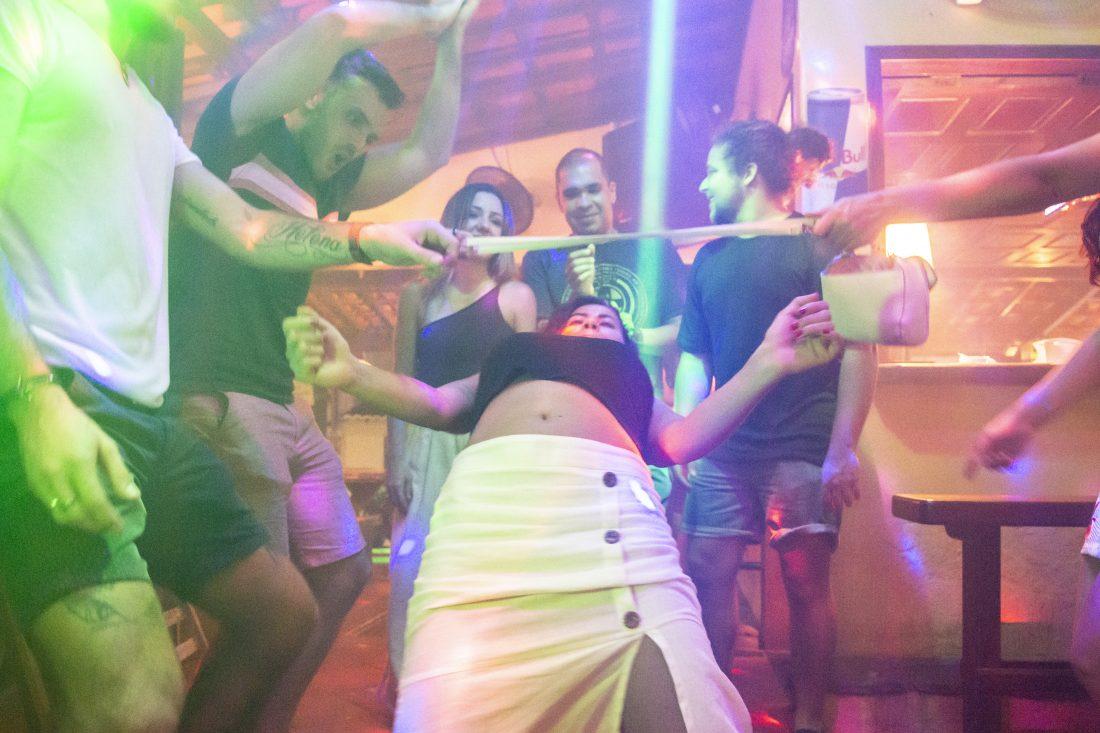 Nightlife Canoa Quebrada Fortaleza Brazil