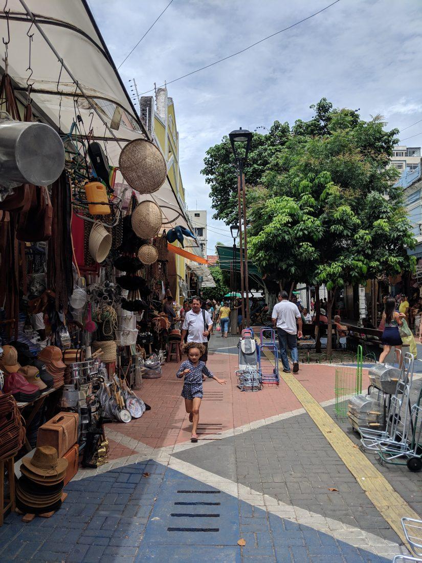 Side street Central Market Fortaleza 3