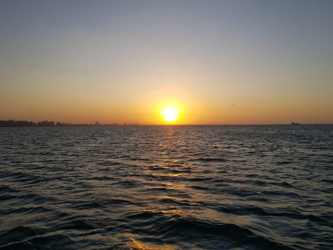 Sunset Fortaleza Brazil
