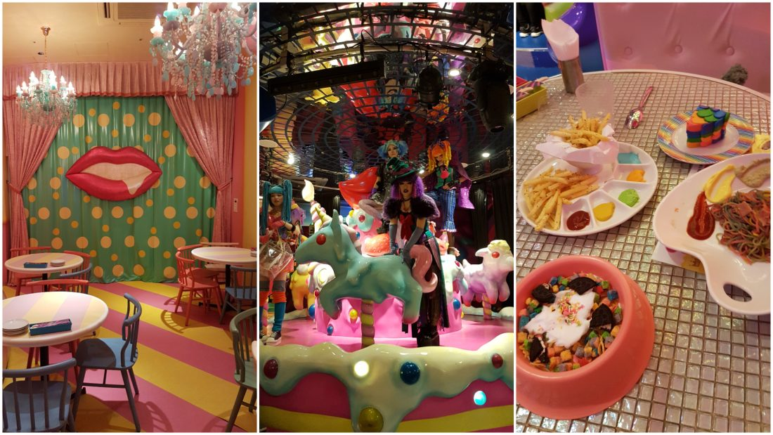 Unique things to do in Tokyo kawaii monster cafe