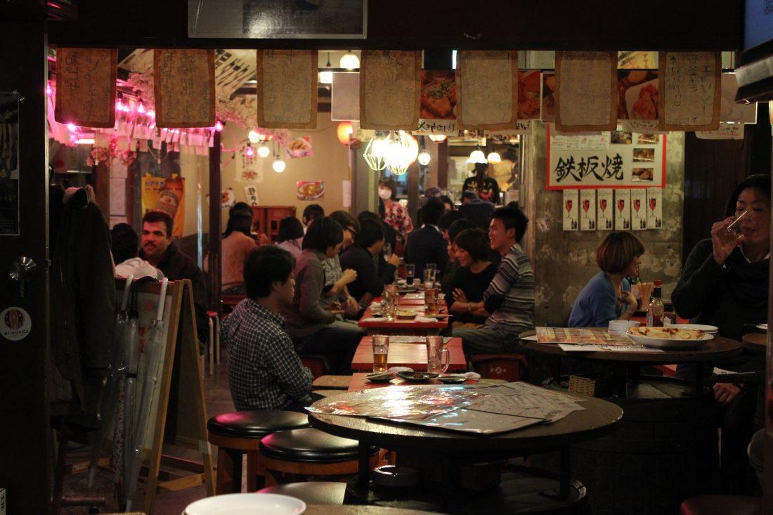 one week in Tokyo Shibuya Niku Yokocho