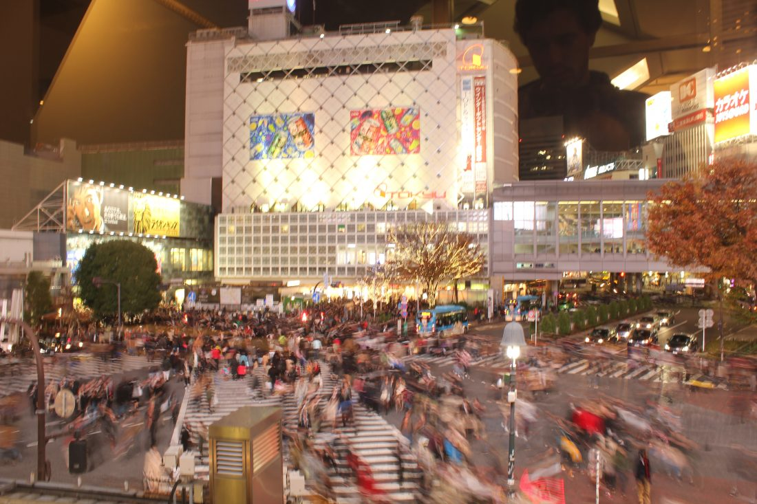 one week in Tokyo itinerary Shibuya crossing