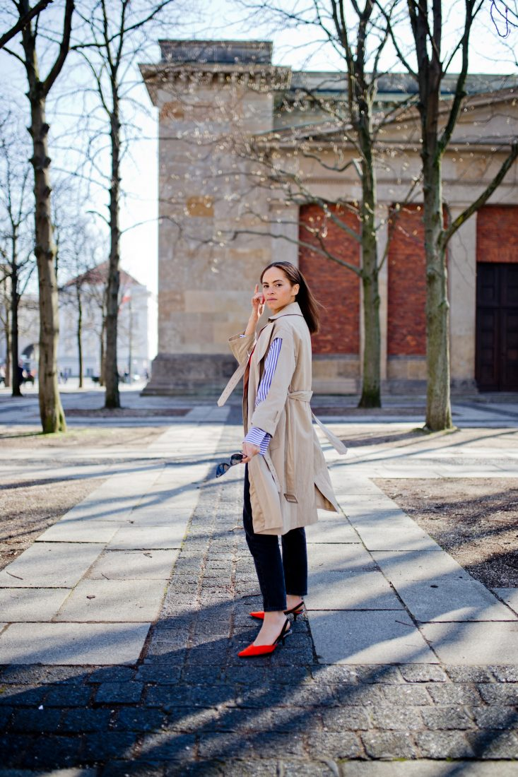Outfit – Not so classic trench