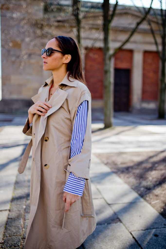 outfit not so classical trench 8
