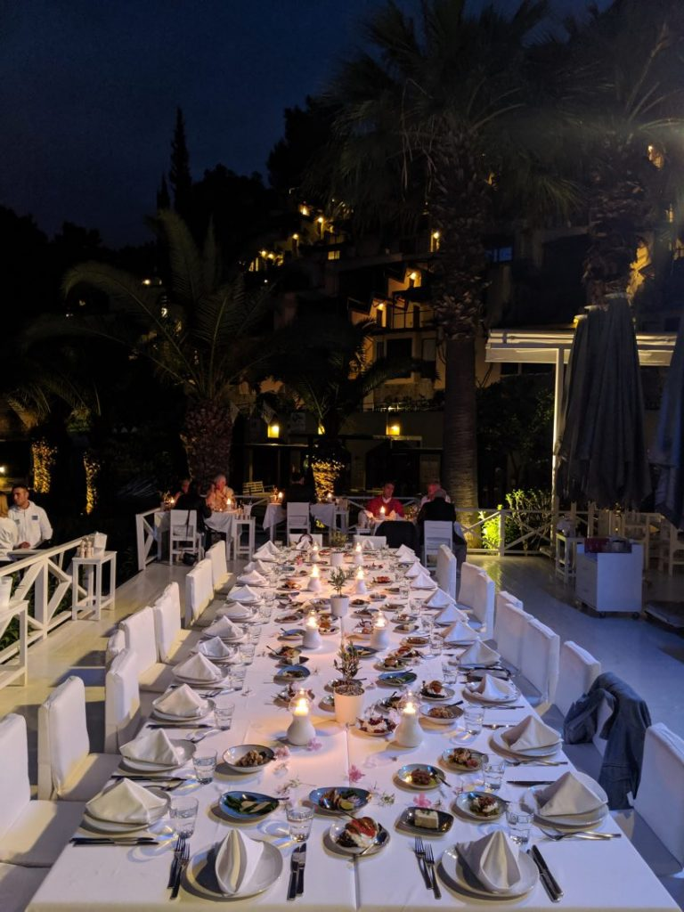 review Hillside beach club Fethiye Turkey Pasha dinner