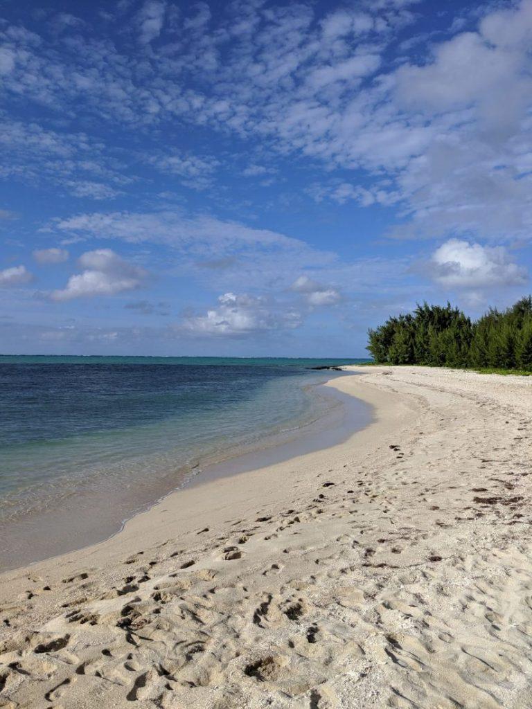 Itinerary Mauritius Ile aux cerfs