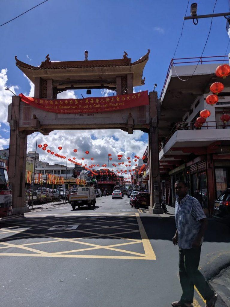 Mauritius itinerary Chinatown port Louis