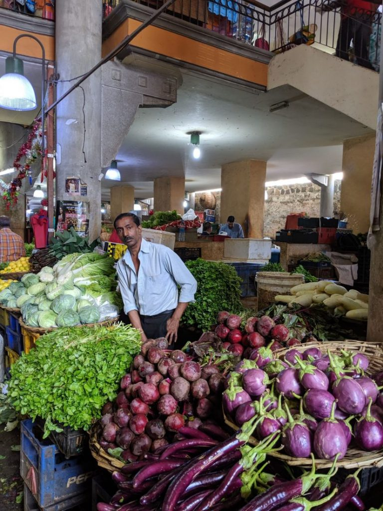 Mauritius itinerary Market port Louis