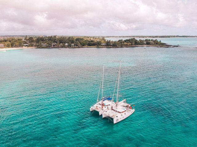 itinerary Mauritius Catamaran trip