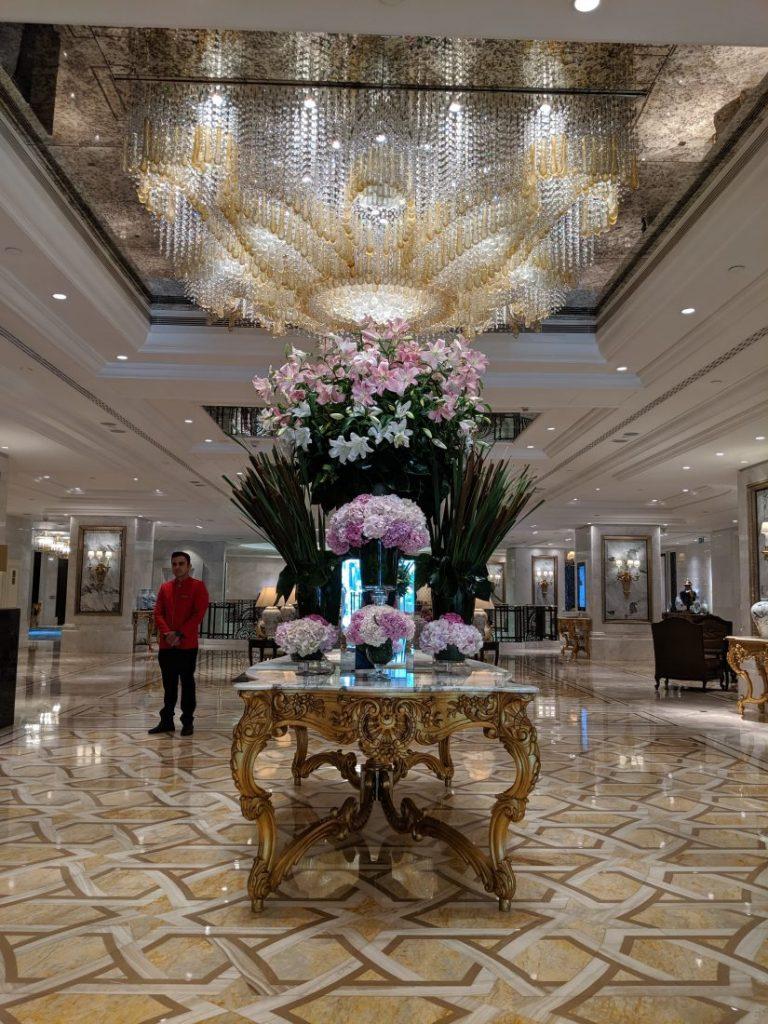 Lobby Shangri La Bosphorus Istanbul
