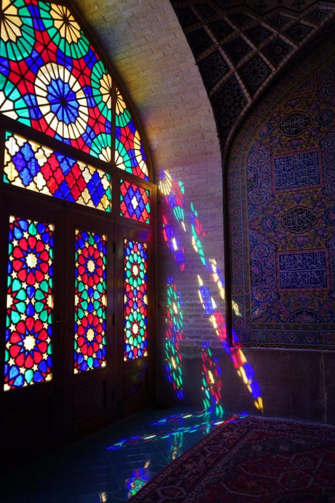 Places to visit in Iran - Iran itinerary with Igopersia Pink mosque Shiraz