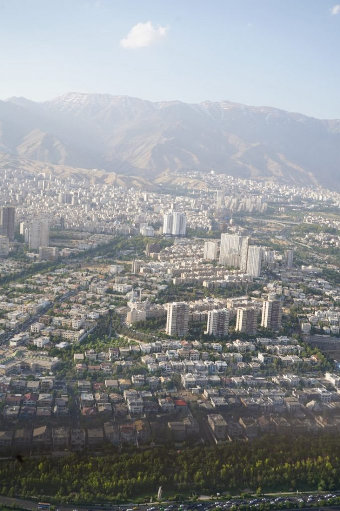 Places to visit in Iran - Iran itinerary with Igopersia Tehran view from Milad tower 2