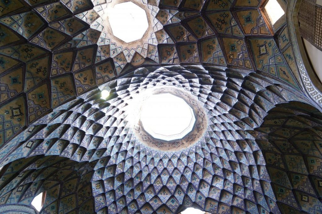 Places to visit in Iran Kashan Bazaar