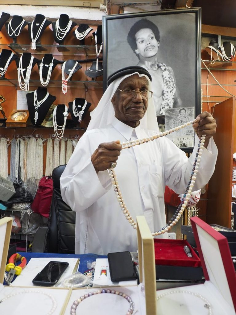 Things to do in Doha in summer The old pearl diver shop