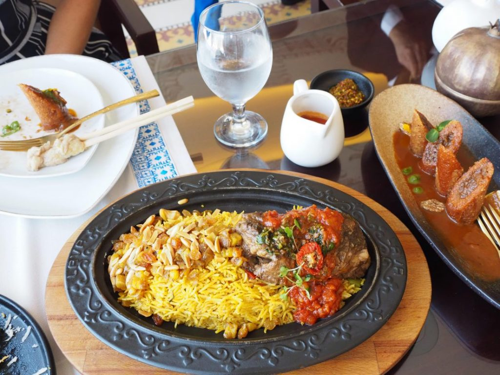 Things to do in Doha in summer lunch at Smat 1