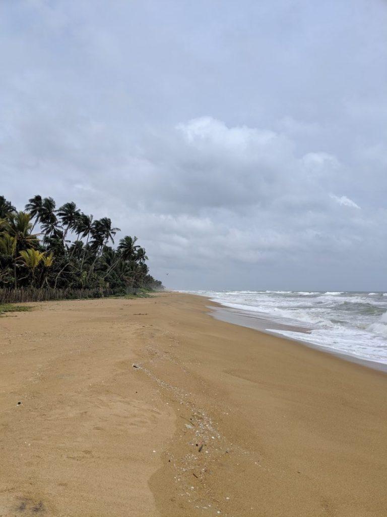 Ayurveda and yoga retreat in Sri Lanka - Review Siddhalepa resort beach