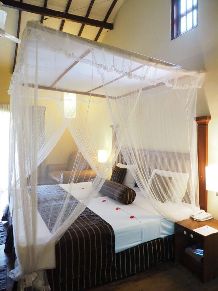 Ayurveda and yoga retreat in Sri Lanka - Review Siddhalepa resort beach room