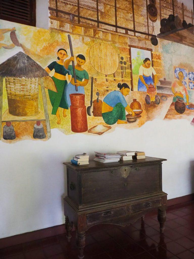 Ayurveda and yoga retreat in Sri Lanka - Review Siddhalepa resort lobby 1