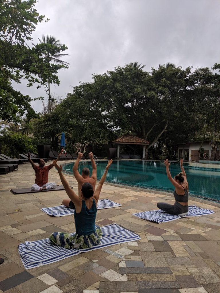 Ayurveda and yoga retreat in Sri Lanka - Review Siddhalepa resort yoga