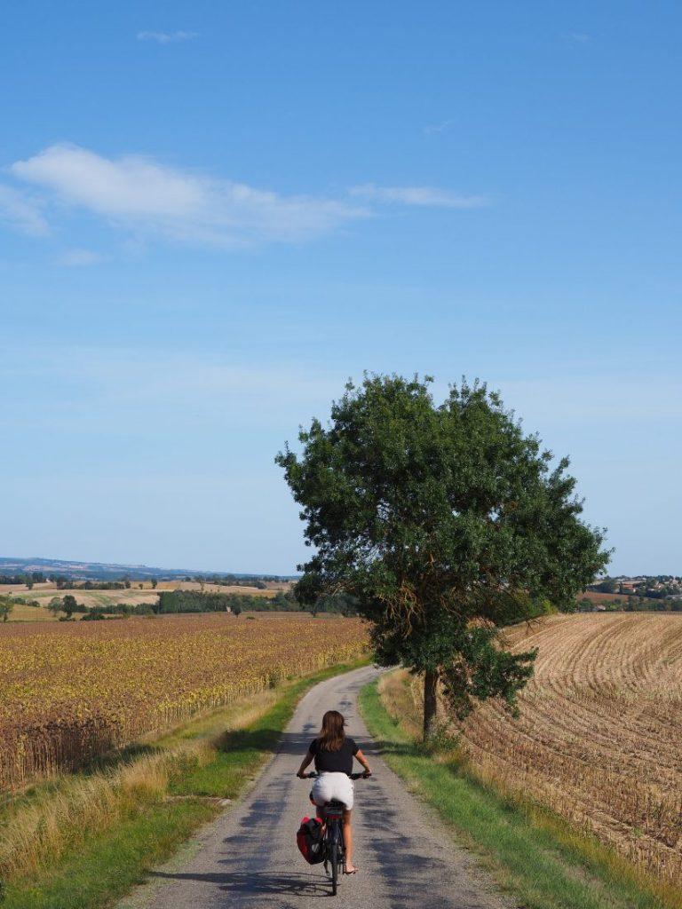 Cycling Canal du Midi, France Fronton Haute Garonne 3
