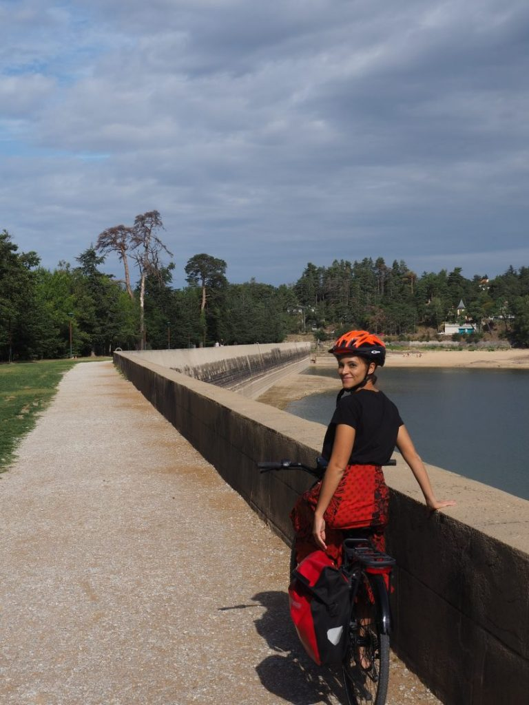 Lake Ferreol Cycling Canal du Midi, France