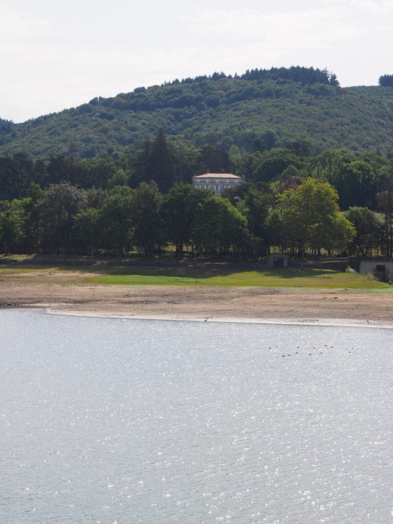 Lake ferreol Haute Garonne