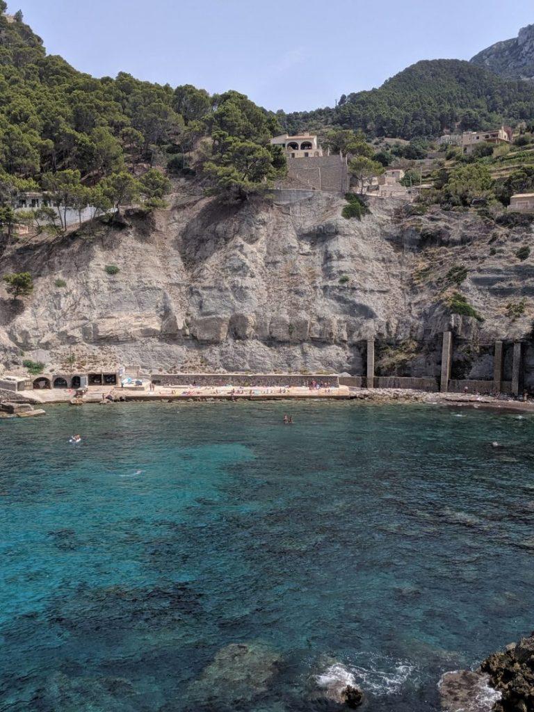 Mallorca road trip west coast Cala Banyalbufar
