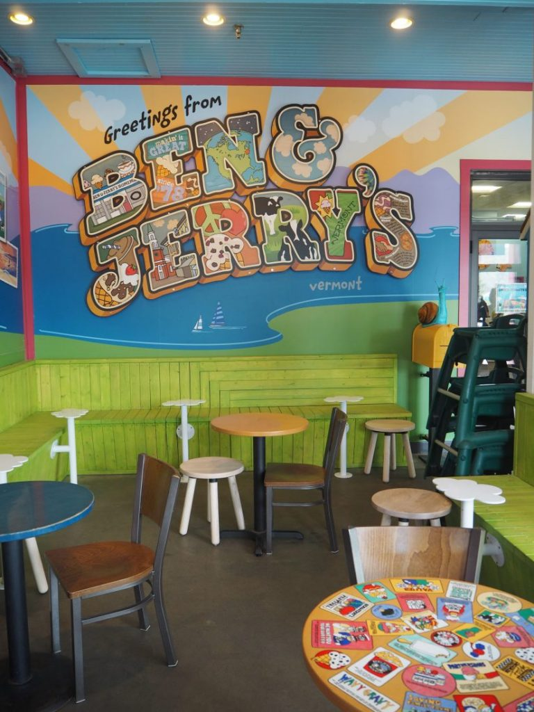 New England road trip Itinerary Ben & Jerry's 3-min