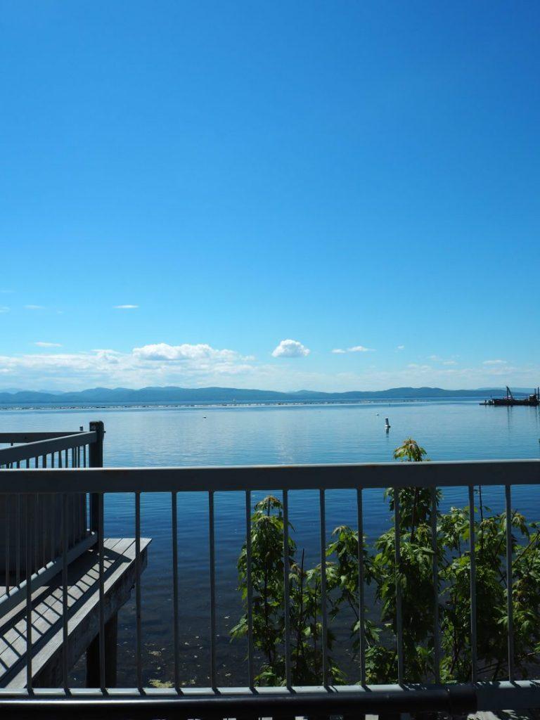 New England road trip Itinerary Burlington Lake Champlain 1-min