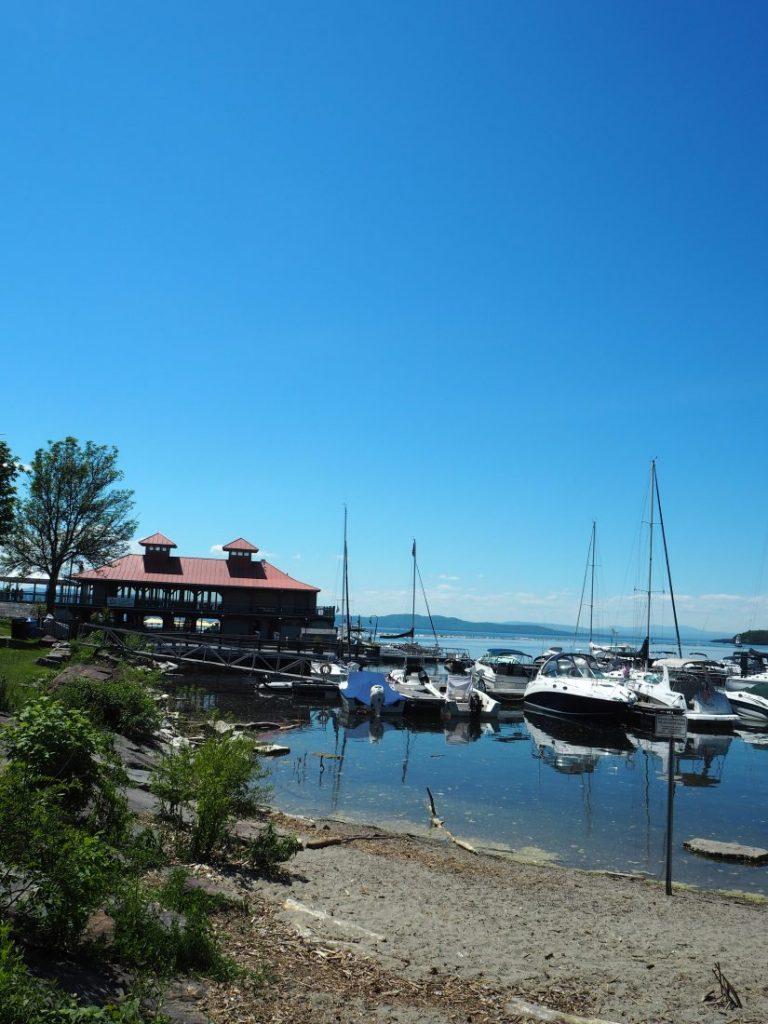 New England road trip Itinerary Burlington Lake Champlain-min