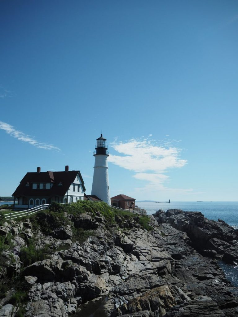 New England road trip Itinerary Maine Cape Elizabeth-min
